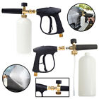 Pressure Snow Foam Washer Jet Car Wash Adjustable Lance Soap Spray Cannon 1/4