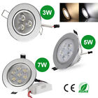 3W 5W 7W LED Dimmable Recessed Ceiling Down Light Spotlight Lamp Bulb 85-265V