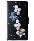 New Bling Luxury Diamonds Crystal PU Leather wallet flip Stand Cover Case K1