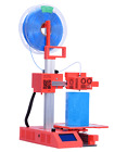 Super Helper SH105 3D Printer in Black, Blue, Red