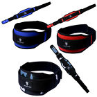 New Weight Lifting Belt Gym Power Training Back Support Work Fitness Lumbar Pain