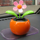 Solar Powered Dancing Flower Swinging Animated Dancer Toy Car Decoration NEW