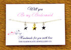 Personalised Bridesmaid/Hen Night/Party Friendship Bracelets party favours LB916