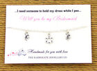 Personalised Bridesmaid/Hen Night/Party Friendship Bracelets party favours LB923