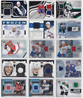frozen list of characters - NHL Game Used Jersey Cards Choose From List Many Stars To Pick From LOOK