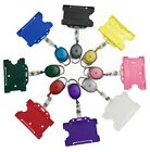 Yo Yo Retractable ID Badge Reels With Matching Open Faced ID Card Holder lot