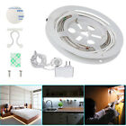 1x 2x Flexible Motion Activated Bed Light LED Strip Sensor Warm White Night Lamp