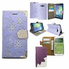 For Samsung Galaxy Diamond Book Flip Case Cover Leather Wallet S4mini ACE4 G357