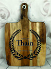 Engraved Painted & Personalised Bread/Chopping Board - Wedding Gift - 72