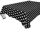 Polka Dots Minnie Mickey Mouse Plastic Table Cover Birthday Party Decoration