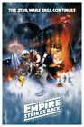 STAR WARS EPISODE V 5 POSTER (61x91cm) THE EMPIRE STRIKES BACK MOVIE ONE SHEET $19.8 AUD