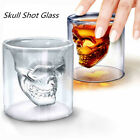 Hot Crystal Skull Double Layer Glass Beer Cup Vodka Cocktail Wine Bottle PC