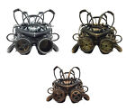 Adult size Steampunk Helmet with Goggle - 3 Colors to Choose from fnt