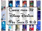Disney Castle and Characters iPod Touch 5 and iPod Touch 6 White Plastic Case