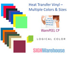 Logical Color WarmPeel CP Heat Transfer Vinyl, T-Shirt Crafts Graphics