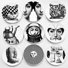 Fornasetti Plate Vintage Piero Plates Italy Mint Art Beauty Bedroom Cafe Decor a