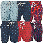 Mens Swimming Shorts Threadbare Marlin Knee Length Turtle Trunks Shark Summer