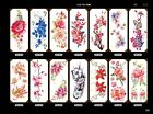 Flowers Tattoos Waterproof  Body Temporary Tattoos Sticker Removable USA