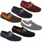 Mens Moccasins Shoes Driving Loafers Slip On Italian Smart Formal Designer New