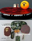 * A BATHING APE ABC TABLE TENNIS SET w/ Ball x 2 & Pouch set from Japan New