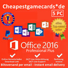 Microsoft Office Professional PLUS 2010/2013/2016 1/2/3/5 PC key per email