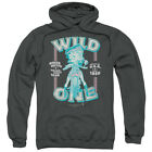 Betty Boop Wild One Pullover Hoodies for Men or Kids $26.39 USD