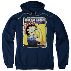 Betty Boop Power Pullover Hoodies for Men or Kids $26.39 USD