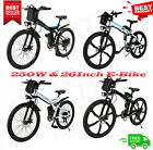 20' Folding Electric Mountain Bike Bicycle Fat Tire Ebike W/ Lithium 48V Battery