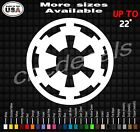 STAR WARS Galactic Empire Vinyl Decal Sticker | Imperial Star Wars Bumper Decal $24.99 USD on eBay