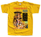 The Big Bird Cage, movie poster 1972, T-SHIRT WHITE YELLOW all sizes S-5XL