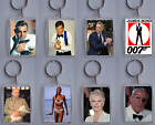 James Bond Characters, Photo Keyring / bag tag, clear plastic, £1.6 GBP on eBay