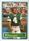 1983 Topps Football Card Pick 147-396 $0.99 USD on eBay