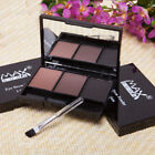 3 Color Pallet Eyebrow Powder Eye Shadow Smoky Eyes Women Ma