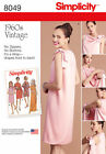 Simplicity 8049 aka S0662 Sewing Pattern Vintage Retro Style Wrap Dress 8-24
