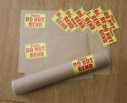 PLEASE DO NOT BEND LARGE Labels Stickers Adhesive Printed Mail POSTAL Sticker