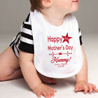 Personalised 1st Mothers Day Bib - Star
