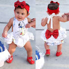 baby boutiques in shreveport la - Boutique Newborn Baby Girls Backless Romper Jumpsuit Sunsuit Clothes Outfits USA