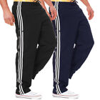 adidas Essential Basic Mens Trousers 3 Stripe Casual Sports Track Pants