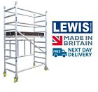 LEWIS Trade Folding Aluminium Scaffold Towers - British Made Quality <br/> We are the Manufacturer