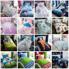Children's Kids Girls Duvet Quilt Cover Bedding Sets Space, Unicorn , Football