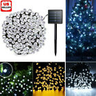 100 200 LED Solar String Fairy Light Garden Christmas Outdoor Party Decoration <br/> 100 or 200LED🎁FAST✯FREE SHIPPING🎁 ⚡USA✯SELLER⚡