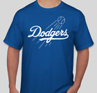 LOS ANGELES DODGERS LOGO BRAND NEW BASEBALL GRAPHIC T SHIRT S-2XL