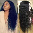 360 Lace Frontal Wig Pre Plucked 100% Indian Human Hair Silk Top Full Lace Wig @