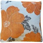 """LUXURY Soft Polyester Chenille Floral Printed Cushion Covers 18"""" Cover '"""