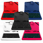 Keyboard Case w/ Faux Leather Exterior for Tesco Hudl 2 - In Variety of Colours!