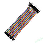 40X 2.54mm Dupont Wire Colorful Jumper Cable M-M/M-F/F-F For Arduino Breadboard