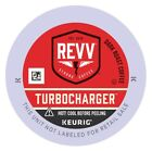 Revv Turbocharger Coffee 24 to 144 Ct Keurig K cups Pick Any Size FREE SHIPPING