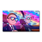 Rick and Morty TV Show Silk Poster Sunset 13x24 32x57 inch