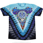 GRATEFUL DEAD-MIDNIGHT HOUR-NEW YEAR 90-2sd TIE DYE SHIRT M-L-XL-XXL,3X-4X-5X-6X