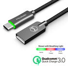 Braided Type C Fast Charging USB-C Charger Cable For Samsung Galaxy S8 S9 Plus